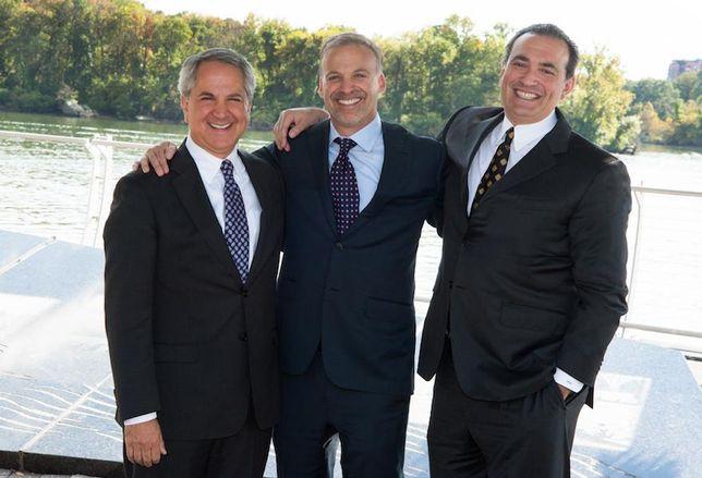 Bernstein Cos.' Marc Duber, Adam Bernstein and Joe Galli