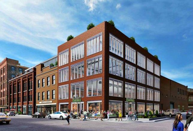 Chicago Fulton Market Real Estate Construction