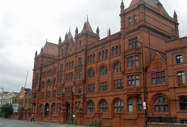 Duckworth's Essence Dillery, Chester Road, Old Trafford, Manchester, now being redeveloped by the Church of Scientology