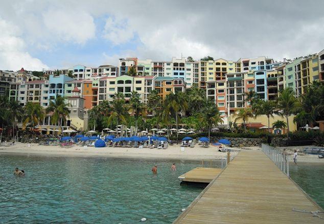 Marriott resort Frenchman's Cove USVI