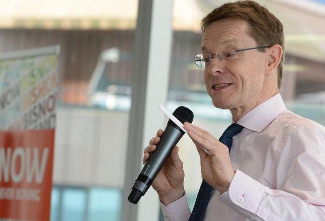 Andy Street, Metro Mayor West Midlands at Birmingham SOTM event 26 April 2018