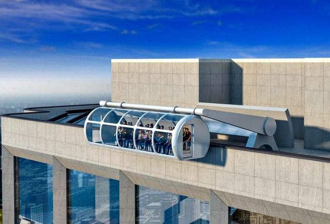 Aon Center's proposed Sky Summit attraction.