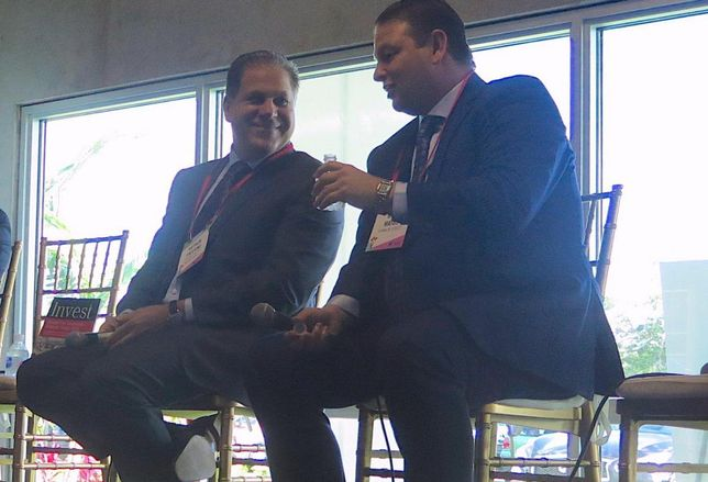 Encore Capital Management CEO Art Falcone and Franklin Street Senior Vice President Greg Matus joined a panel focused on capital markets in West Broward.