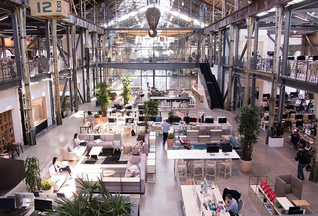 Gusto Moves Into Shoeless Open Office In Historic Pier 70