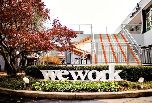 WeWork's Tower Place office in Atlanta