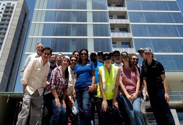 Tallest Residential Tower West Of The Mississippi Tops Out