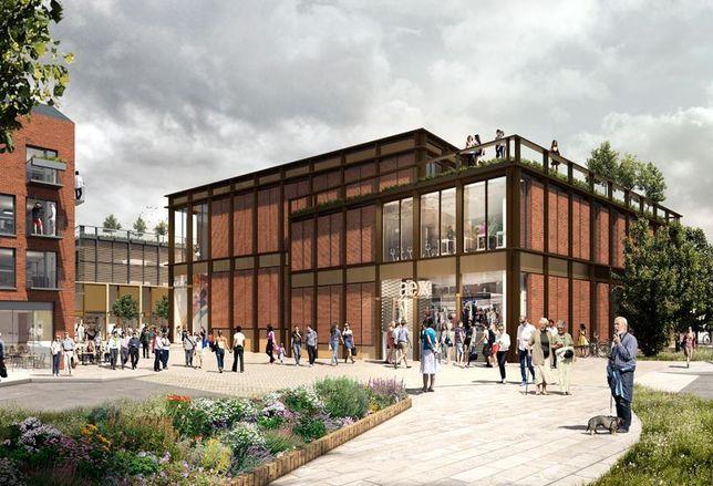 U+I's Friargate scheme Lichfield retail Birmingham