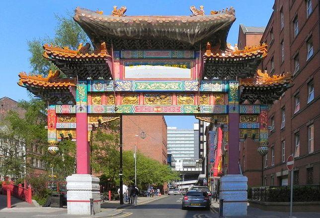 Manchester Chinatown Chinese China Arch
