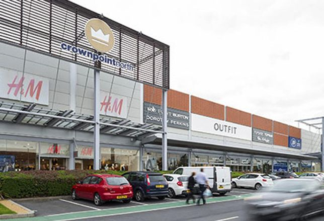 British Land Crown Point Denton retail park Manchester out of town