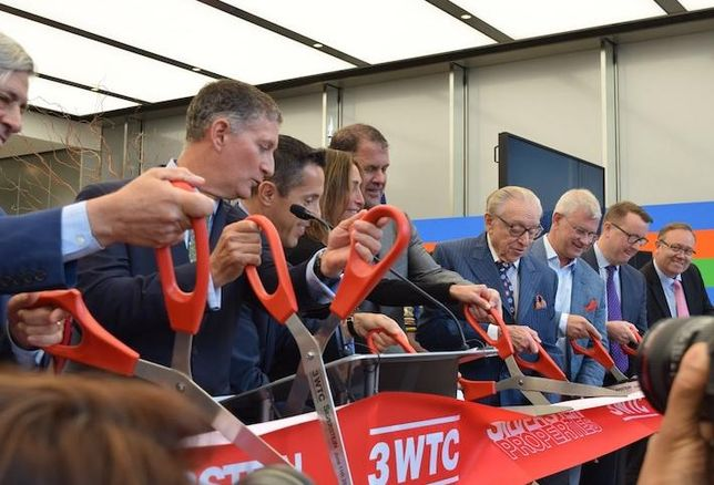A Decade After Groundbreaking, 3 WTC Officially Opens Its Doors