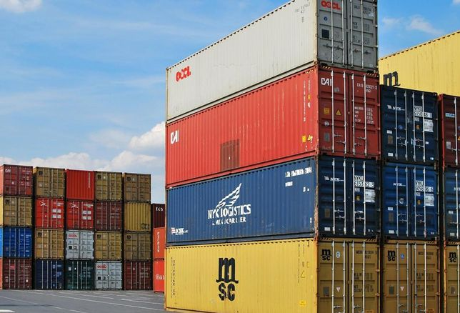 export containers shipping trade