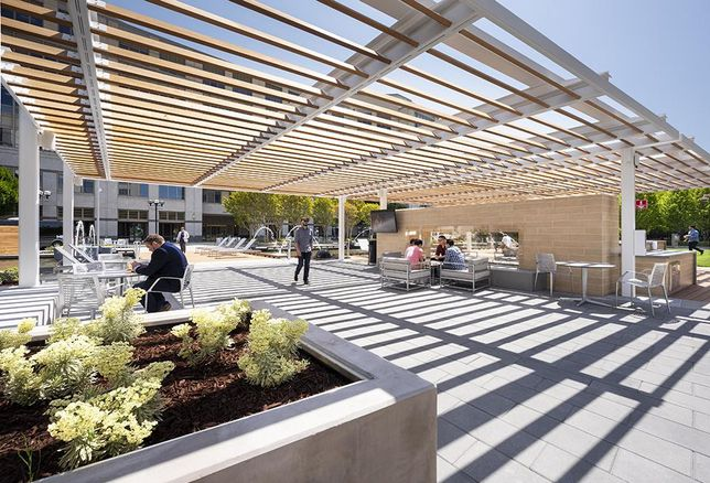 Columbia Property Trust Completes Outdoor Amenity Addition