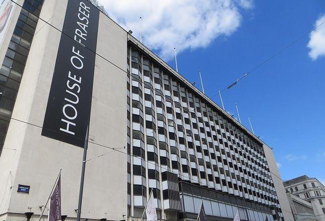 House of Fraser department store Birmingham