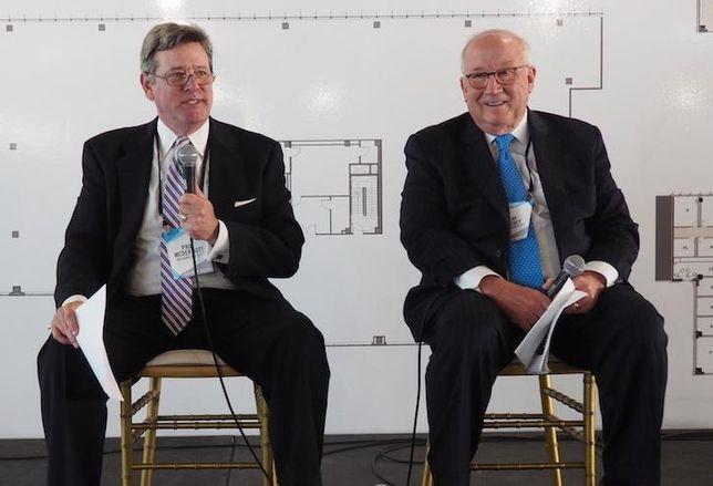 WashREIT CEO Paul McDermott and Boston Properties' Senior Executive Vice President Ray Ritchey
