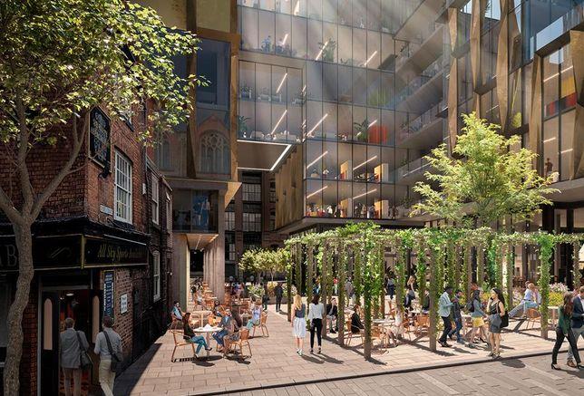 St Michaels development Manchester Gary Neville pub