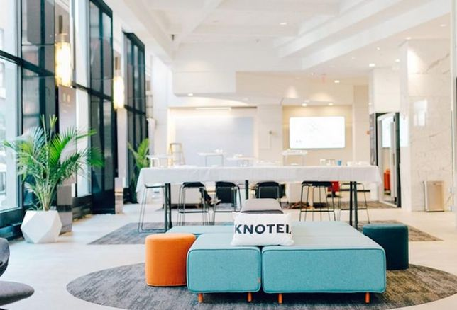 Knotel Has Hundreds Of Thousands Of Square Feet To Fill In The Next Year