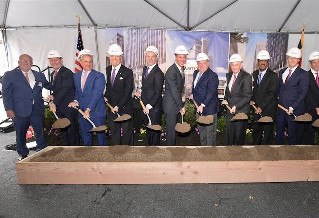 Marriott Celebrates Groundbreaking Of New Downtown Bethesda Headquarters