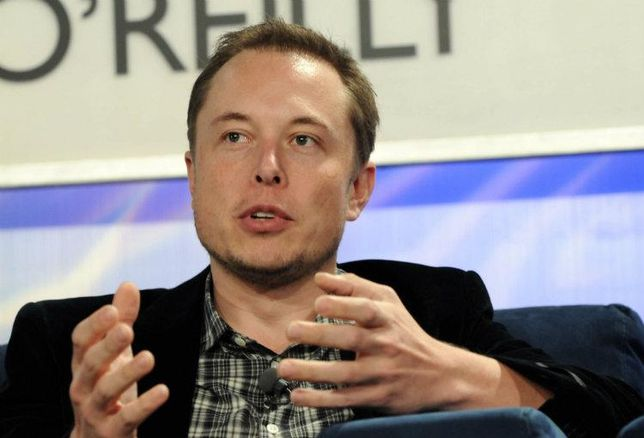 Elon Musk, founder and CEO of Tesla and SpaceX