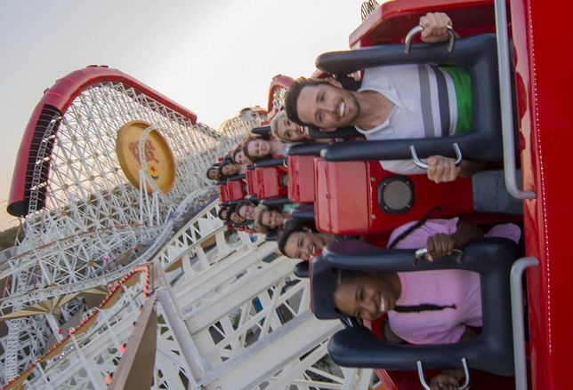 The Incredicoaster is the anchor attraction at Disney California Adventure