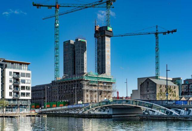 bolands Quay dublin under construction April 2018