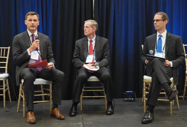 GSA PBS National Capital Region Commissioner Darren Blue, Holland & Knight's Bob Mackichan and GSA PBS Commissioner Dan Mathews