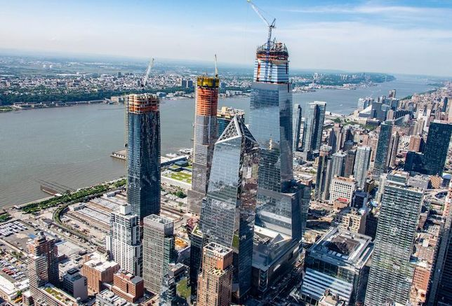 4 Workers Hurt At Hudson Yards After Scaffolding Collapses