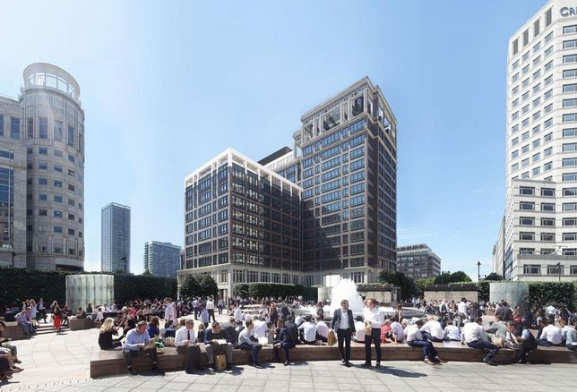 Hines Bags Big New Tenant For Canary Wharf Redevelopment