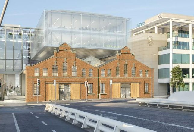 Iput's proposed Tropical Fruit Warehouse office development on Sir John Rogerson's Quay
