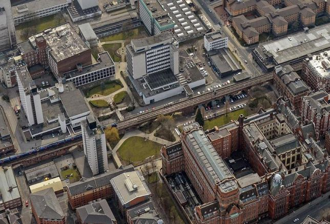 UMIST Manchester north Campus university