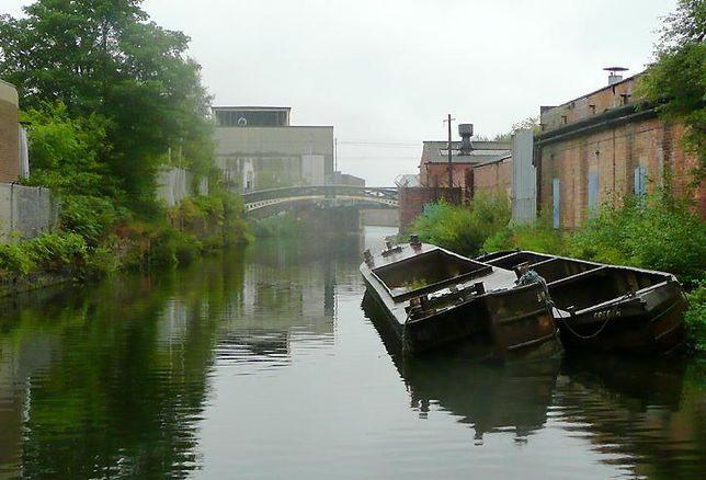 Birmingham port loop Icknield canal boats
