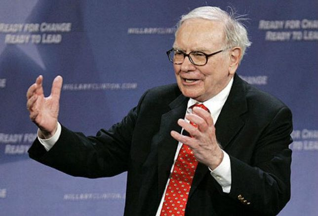 Real estate mogul Warren Buffett