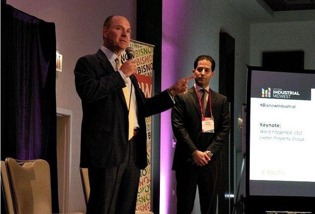 Exeter Property Group CEO Ward Fitzgerald and Liston & Tsantillis Partner Peter Tsantillis