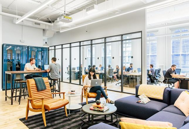 HQ By WeWork, the new business line from the coworking giant aimed at medium-sized companies.