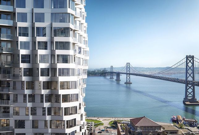Tishman Speyer's Newest Condo Tower Twists Into San Francisco's Skyline
