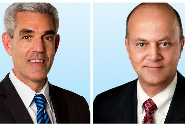Former CBC Advisors office co-founders Gregory Barsamian and Bill Ukropina will now serve as senior executive vice president in Colliers International's Tri-Cities office in Glendale.