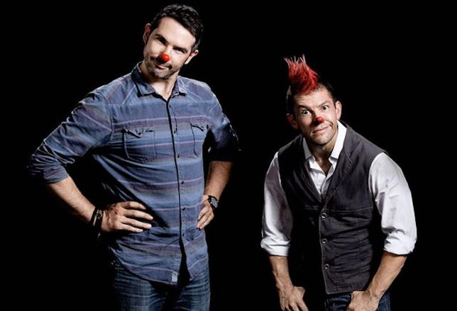 Two Bit Circus CEO and co-founder Brent Bushnell and CTO and co-founder Eric Gradman