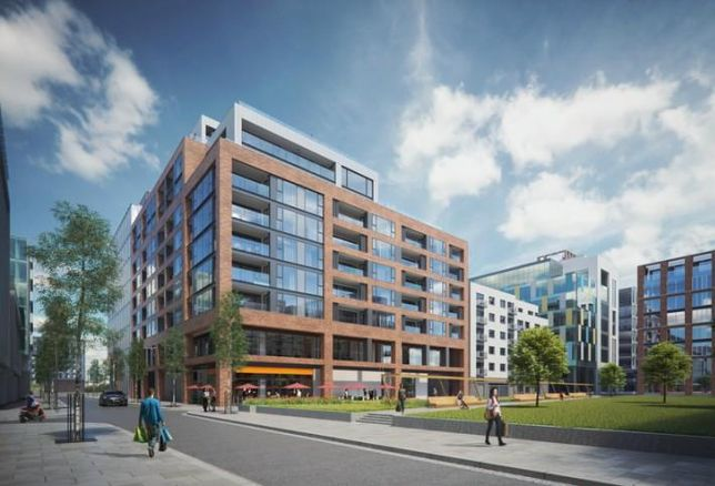 Artist's impression of the Benson Building at 76 Sir John Rogerson's Quay