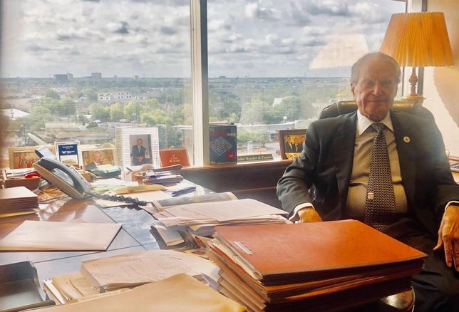 Take A Look Inside Welcome Wilson Sr.'s Office