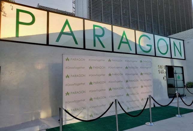 Paragon opens first coworking spot for cannabis-related companies in Hollywood.