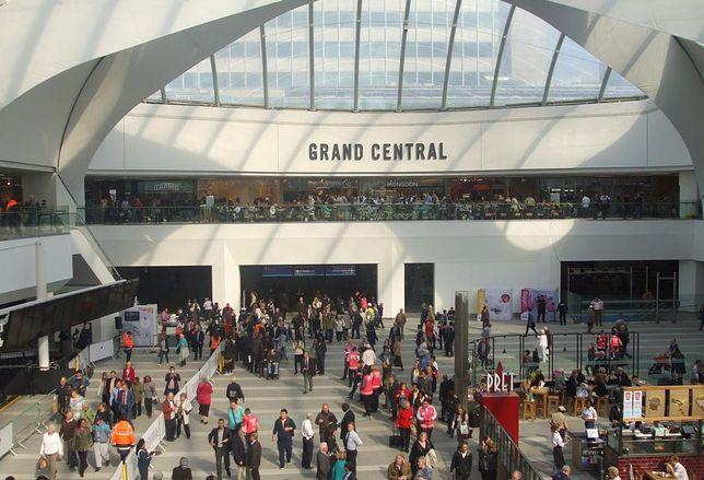 Grand Central retail shopping Birmingham