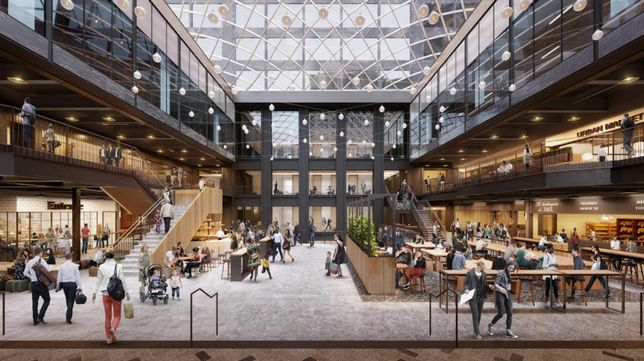 Willis Tower: New Renderings Unveil Plans For 300K SF Retail, Entertainment Hub
