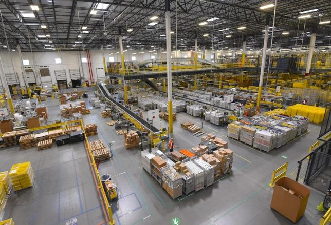Amazon Reportedly Building Multistory Distribution Centers All Over The Country