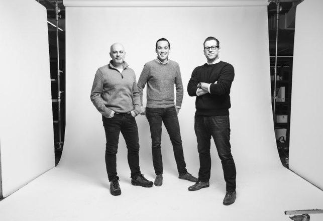 Workframe co-founders Andy Parsons, Robert Moore and Matthew Smith