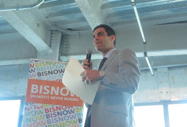 Miami Mayor Francis Suarez was the keynote speaker at Bisnow's annual State of the Market event September 2018.