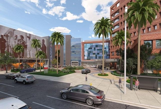 Dignity Health California Hospital Medical Center will construct a new building that will serve as the centerpiece of a $215M campus expansion and modernization plan in downtown Los Angeles, the medical company announced.