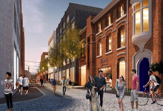 Plans to transform the four-acre AE Harris siteNewhall Street  in the Jewellery Quarter have been submitted to Birmingham City Council. Joint venture partners Galliard Homes and Apsley House Capital are aiming to build a mixed-use scheme of more than 320 new apartments – including lofts and duplexes - and circa 100,000 sq ft of commercial space, creating a new gateway hub in the Jewellery Quarter.
