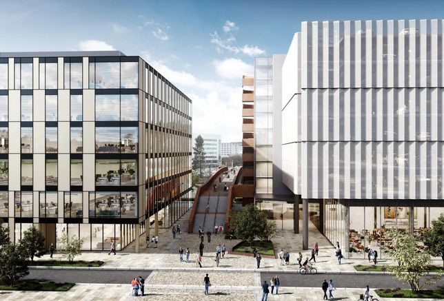 Airport City Manchester 92K x 2 speculative office development September 2018