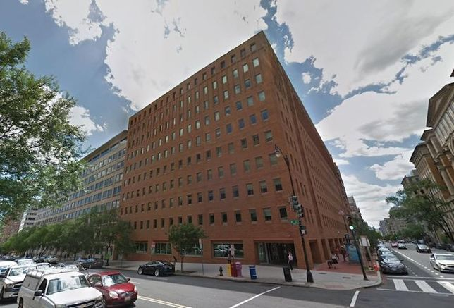 The office building at 600 E St. NW