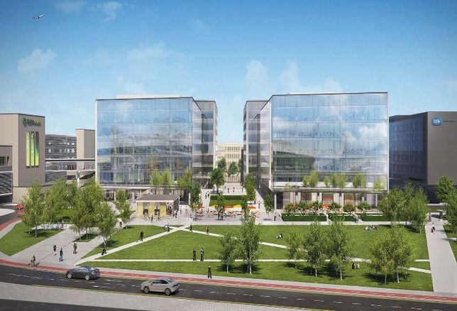 Airport-Oriented Development Lands In Dublin