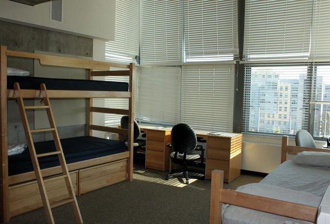 dorm room college student housing